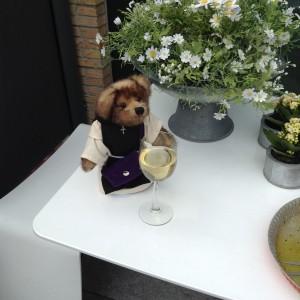 Enjoying some Wine